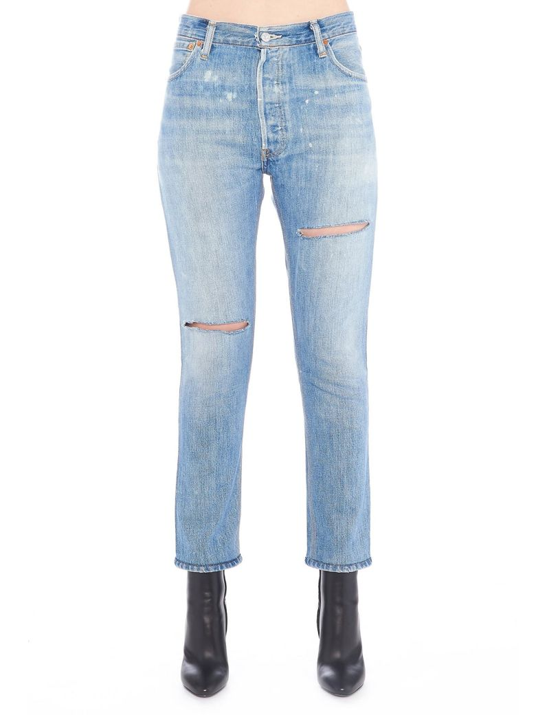 RE-DONE RIPPED JEANS