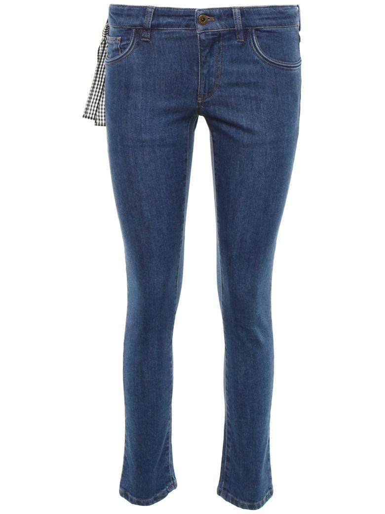 Miu Miu Denim Jeans - AZZURRO|Blu