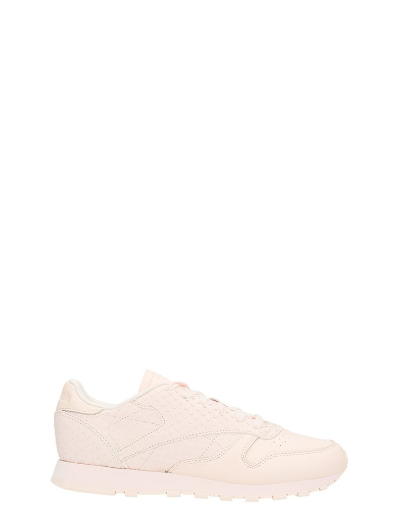 289203a74309 REEBOK CLASSIC LEATHER IL SNEAKERS PASTEL PINK LEATHER