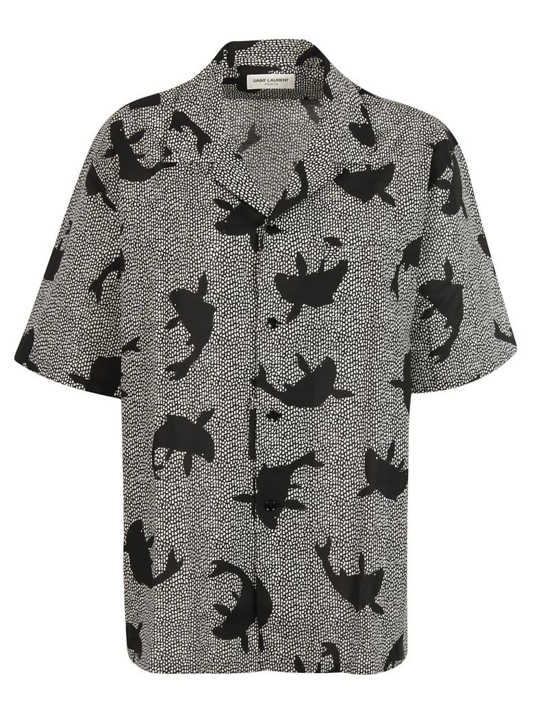 Saint Laurent  FISH PRINT SHIRT