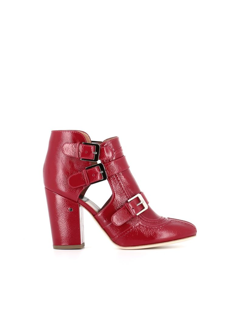 "Ankle Boot ""Sheena"", Red"