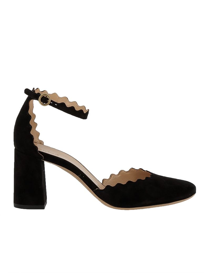 Manchester Great Sale Cheap Online Chloé Chloe Black Suede Sandals Shop For Online For Nice kfCqXyceH9