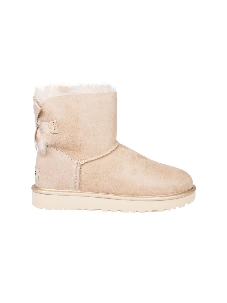 ugg mini bailey bow beige