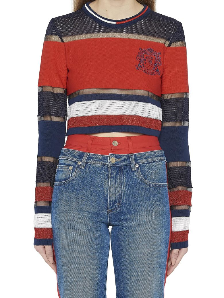 Tommy Hilfiger  MULTI STITCHED SWEATER