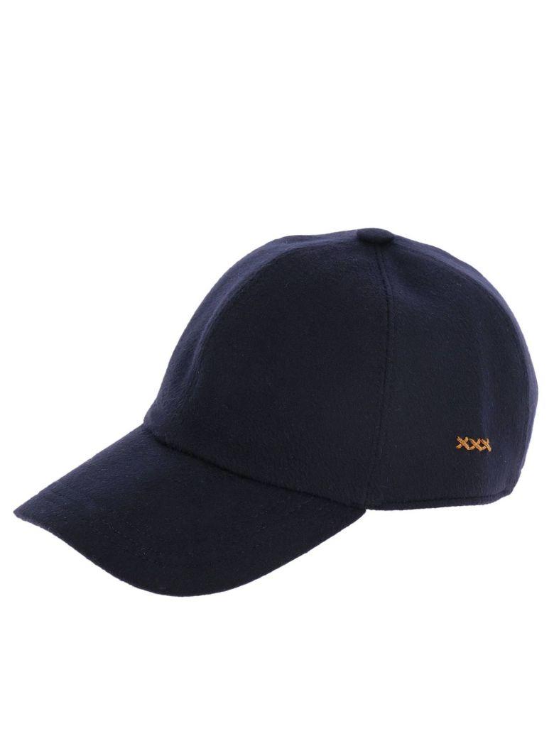 Hat Hat Women Ermenegildo Zegna, Blue