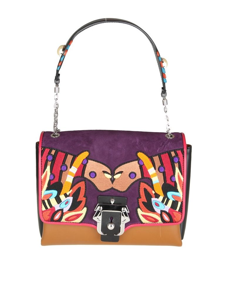 ALICE BAG MULTICOLOR LEATHER WITH DECOR