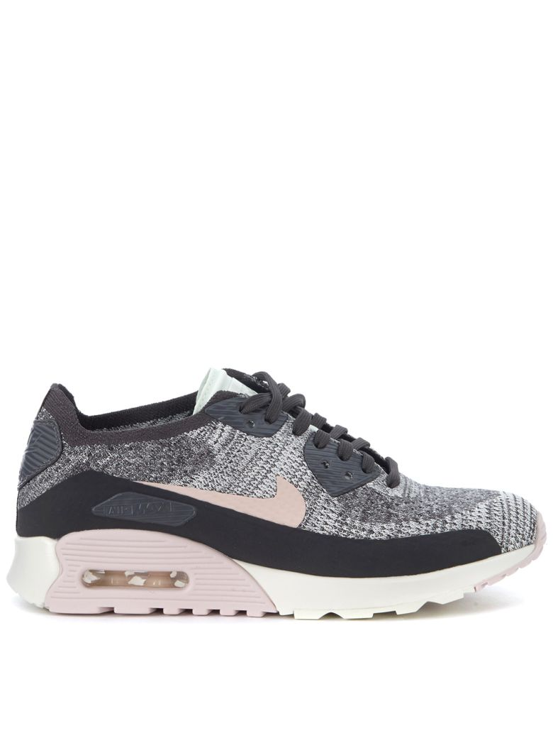 AIR MAX 90 ULTRA 2.0 FLYKNIT BLACK AND PINK SNEAKER