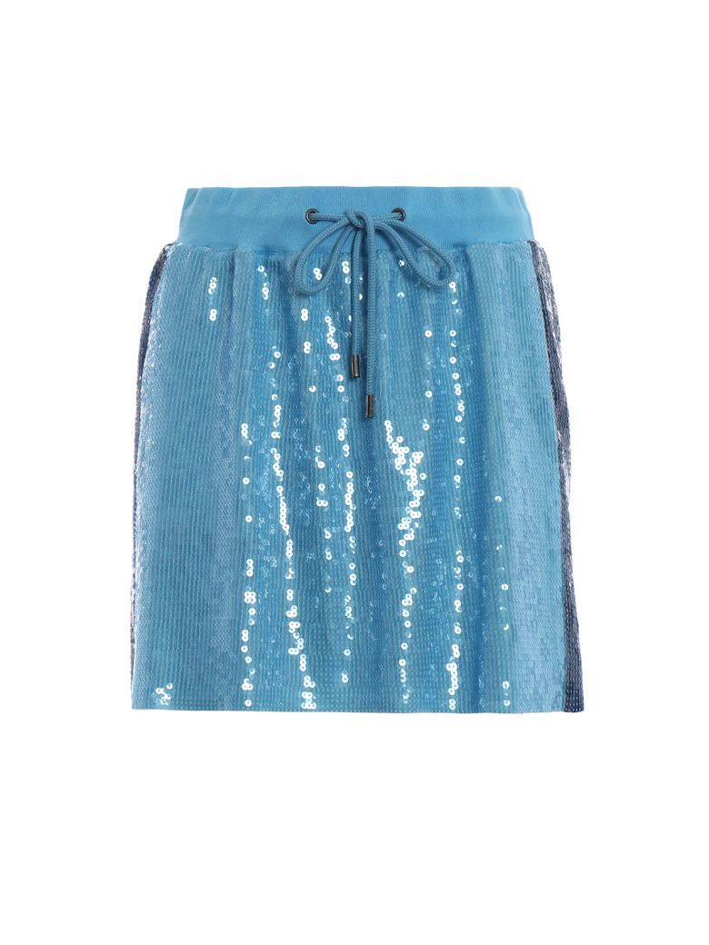 SEQUINED MINI SKIRT