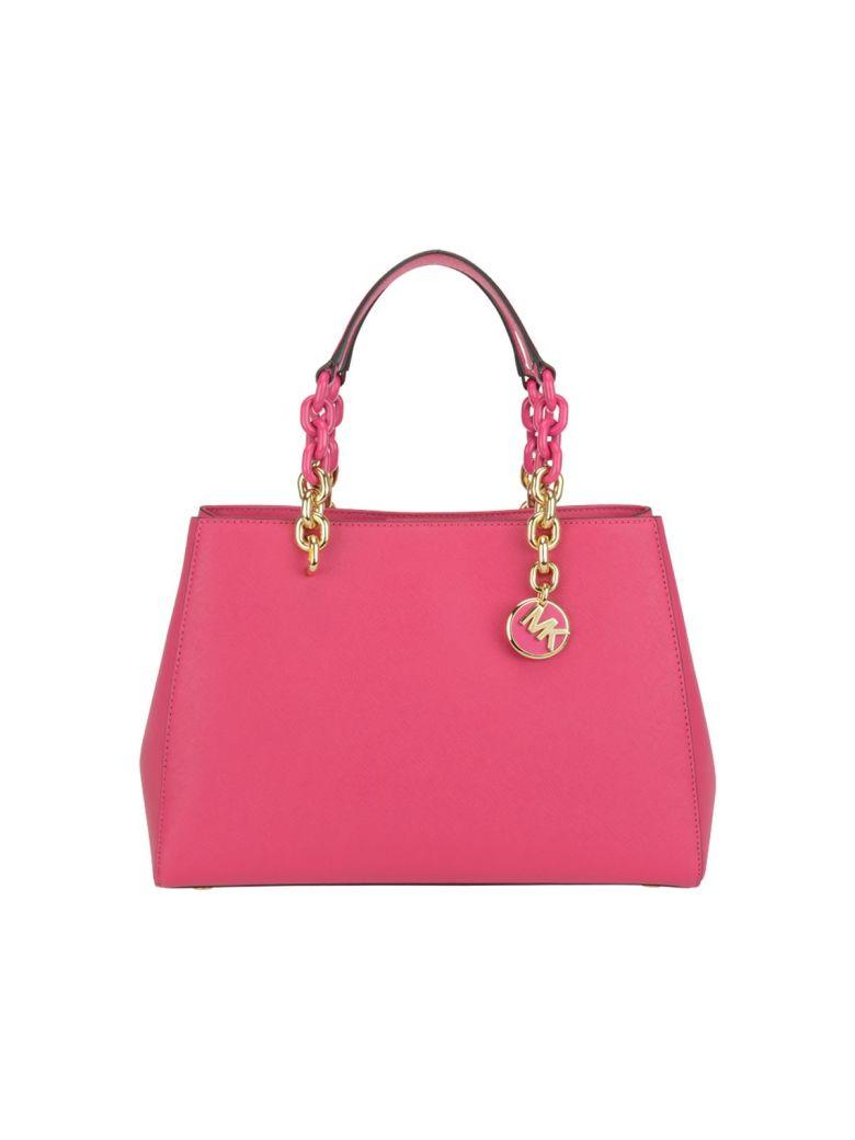 238c2add3782 Michael Kors Medium Cynthia Bag In Ultra Pink