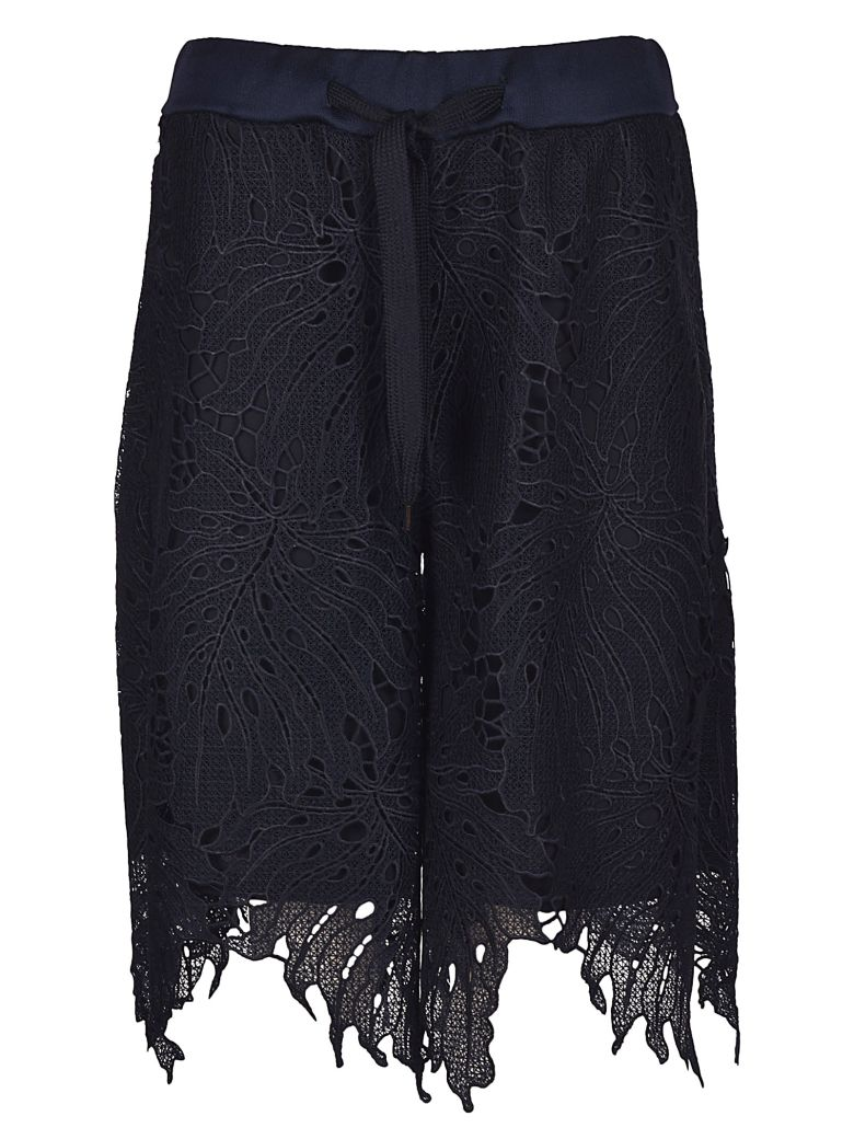 BRAND UNIQUE EMBROIDERED LACE SHORTS