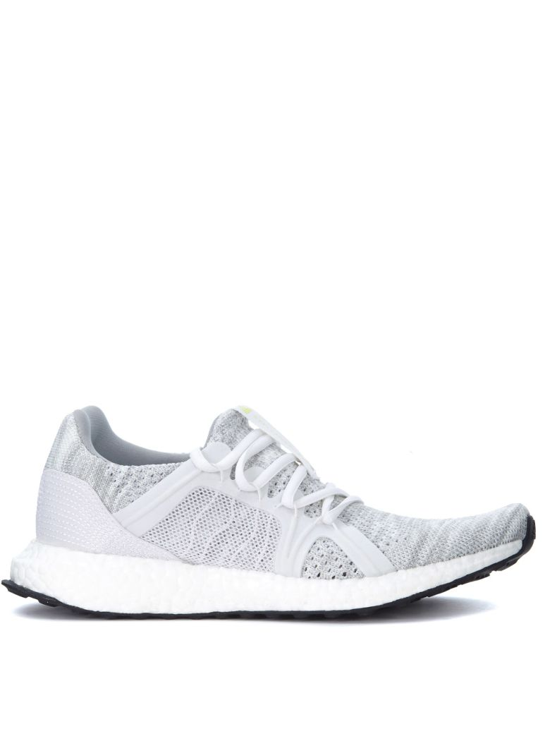 ADIDAS BY STELLA MCCARTNEY ULTRABOOST PARLEY WHITE SNEAKERS