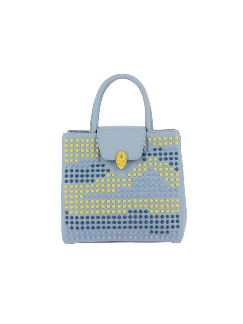 F.E.V. BY FRANCESCA E. VERSACE F.E.V. By Francesca E. Versace Handbag Shoulder Bag Women F.E.V. By Francesca E. Versace in Sky Blue