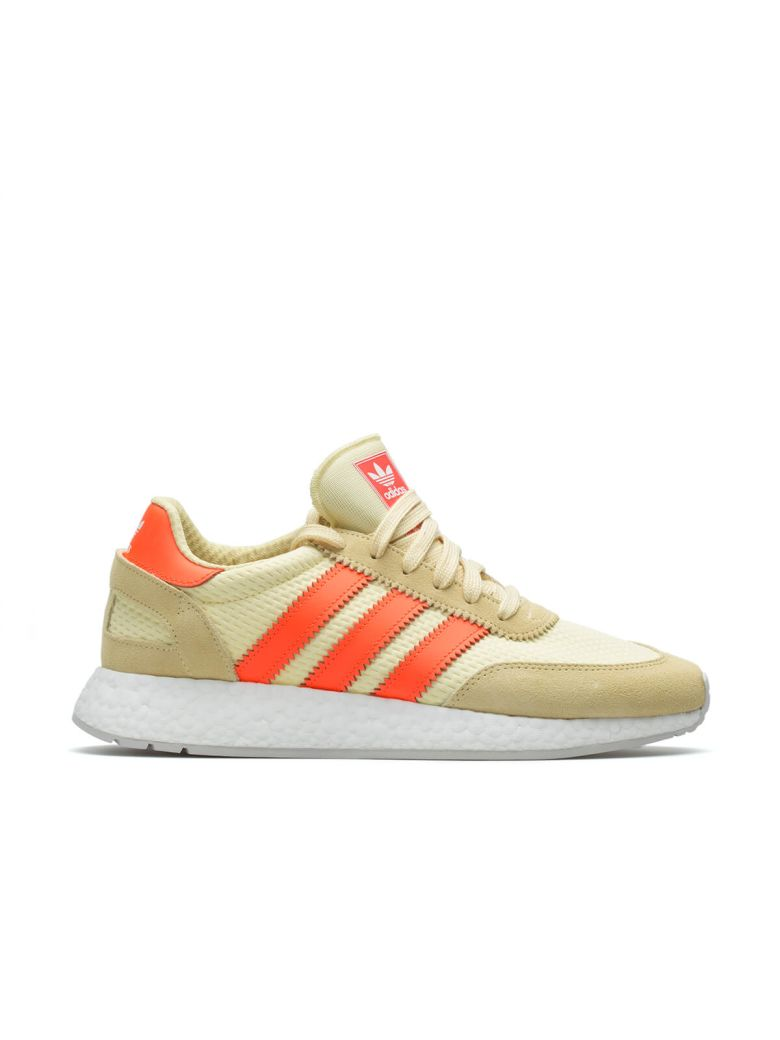 ADIDAS ORIGINALS I-5923 Leather Sneakers In Yellow D96604 - Yellow