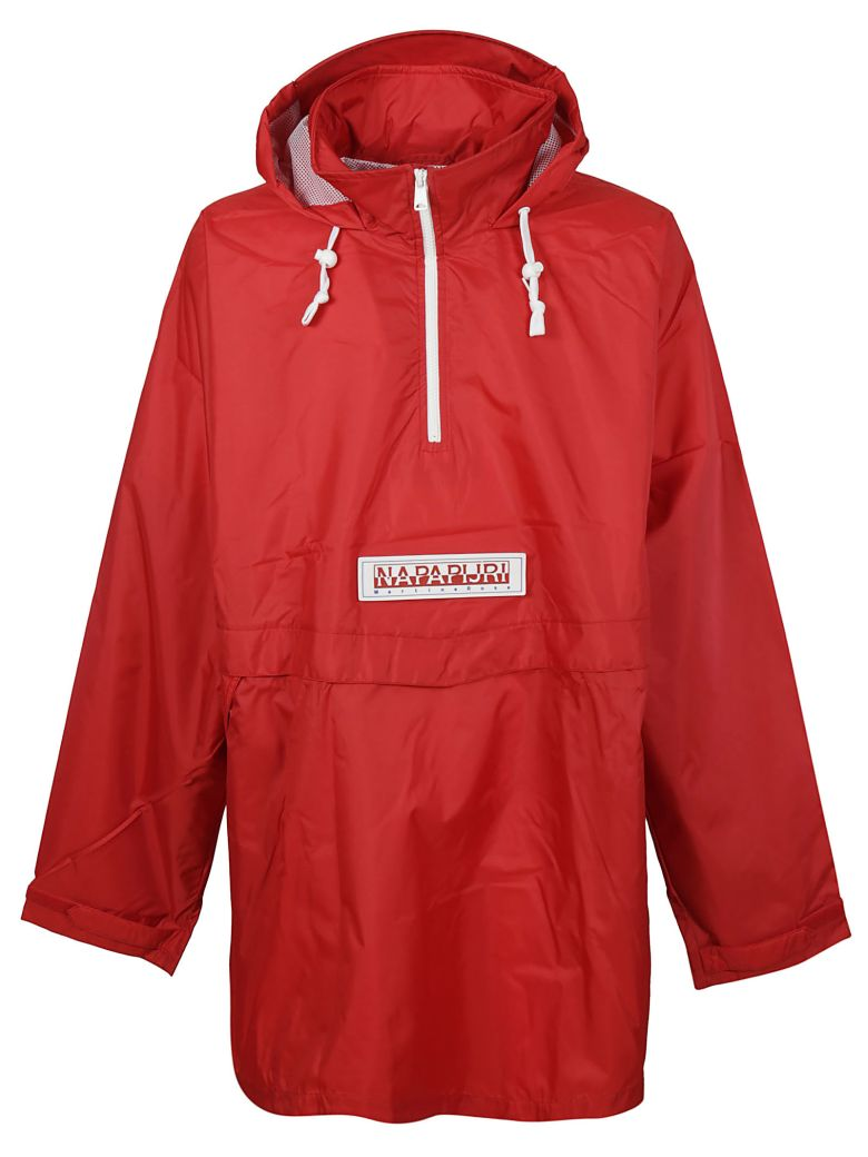 NAPA BY MARTINE ROSE NAPAPIJRI LOGO RAIN JACKET