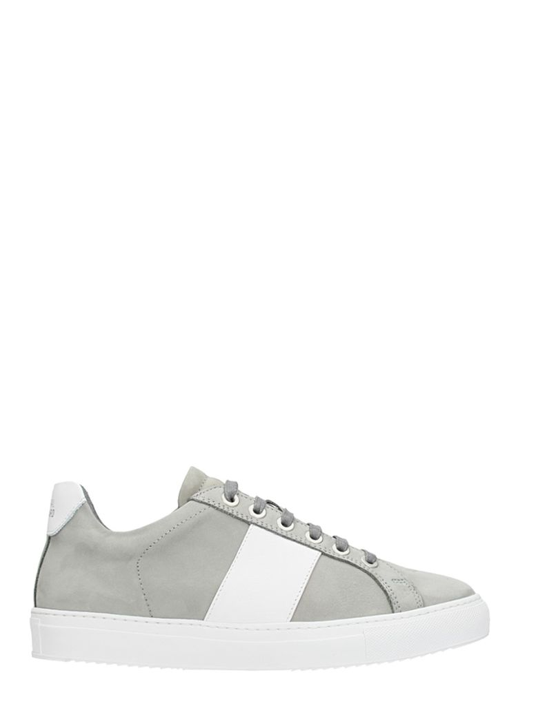 NATIONAL STANDARD EDITION 4 GREY SUEDE SNEAKERS
