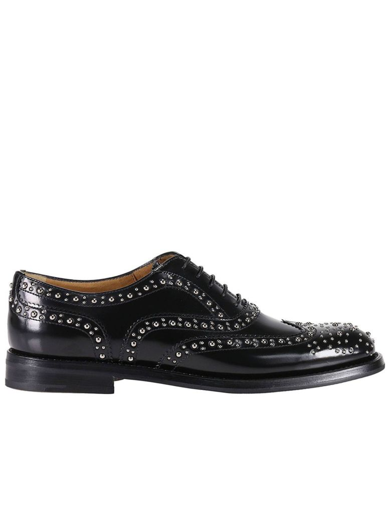 Burwood stud-embellished leather brogues Churchs Outlet Top Quality 2018 Cheap Online Cheap Price Cost 6zLAhDy
