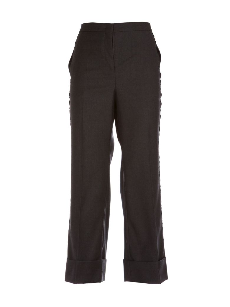 NO21 TAILORED CROPPED BOOTCUT TROUSERS