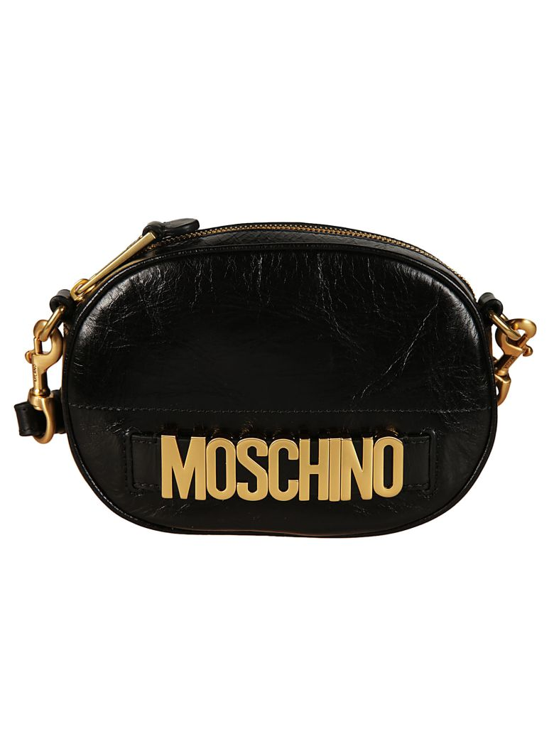 LOGO EMBELLISHED SHOULDER BAG
