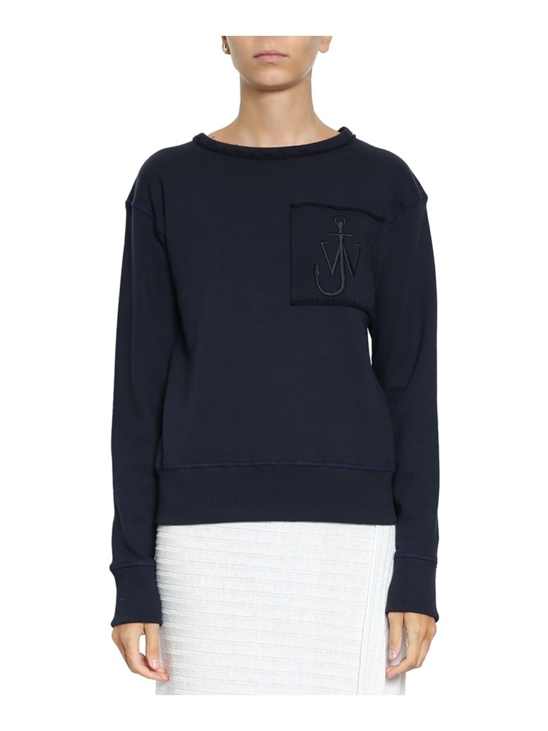 Logo-embroidered crew-neck cotton sweatshirt