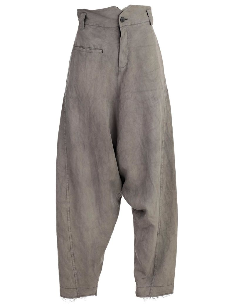 PHAÉDO STUDIOS Trousers in Nakhaki Grey