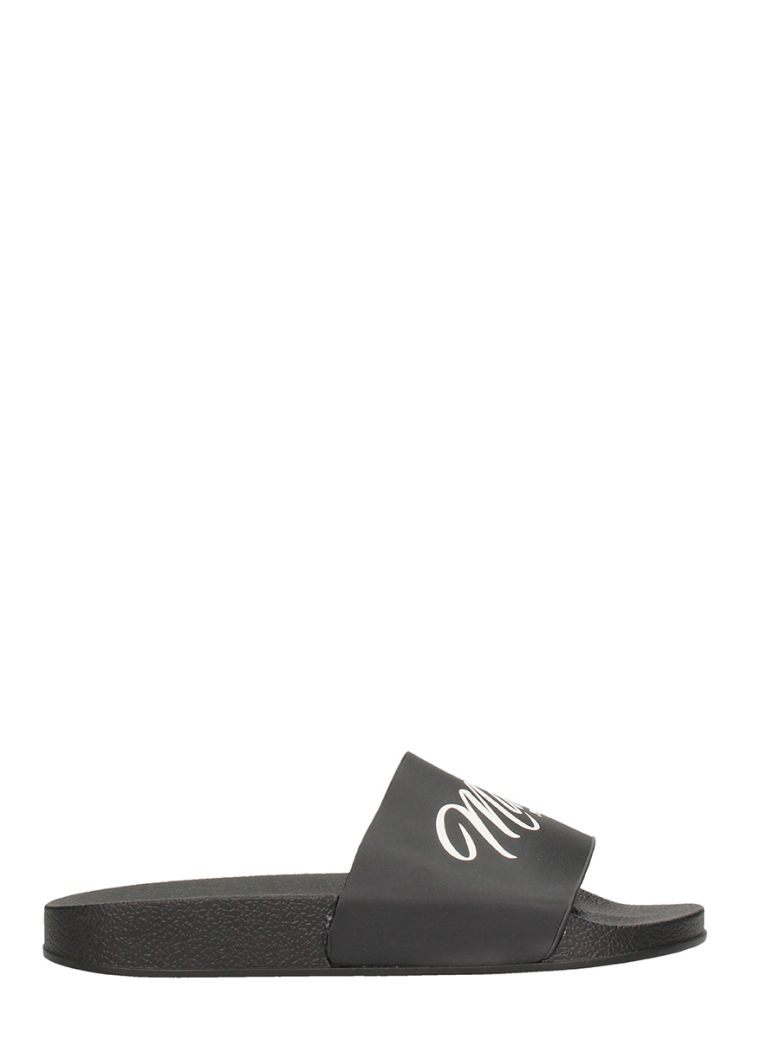 LOGO SLIDE POOL SANDALS