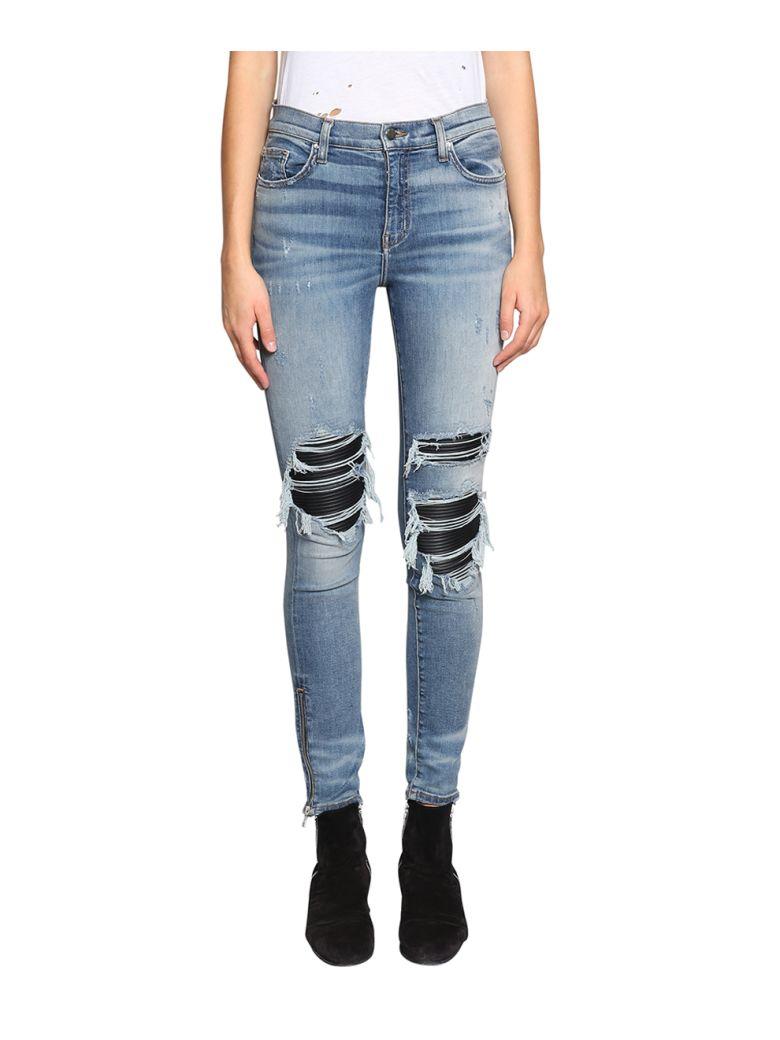 Mx1 Denim Cotton Jeans in Blu