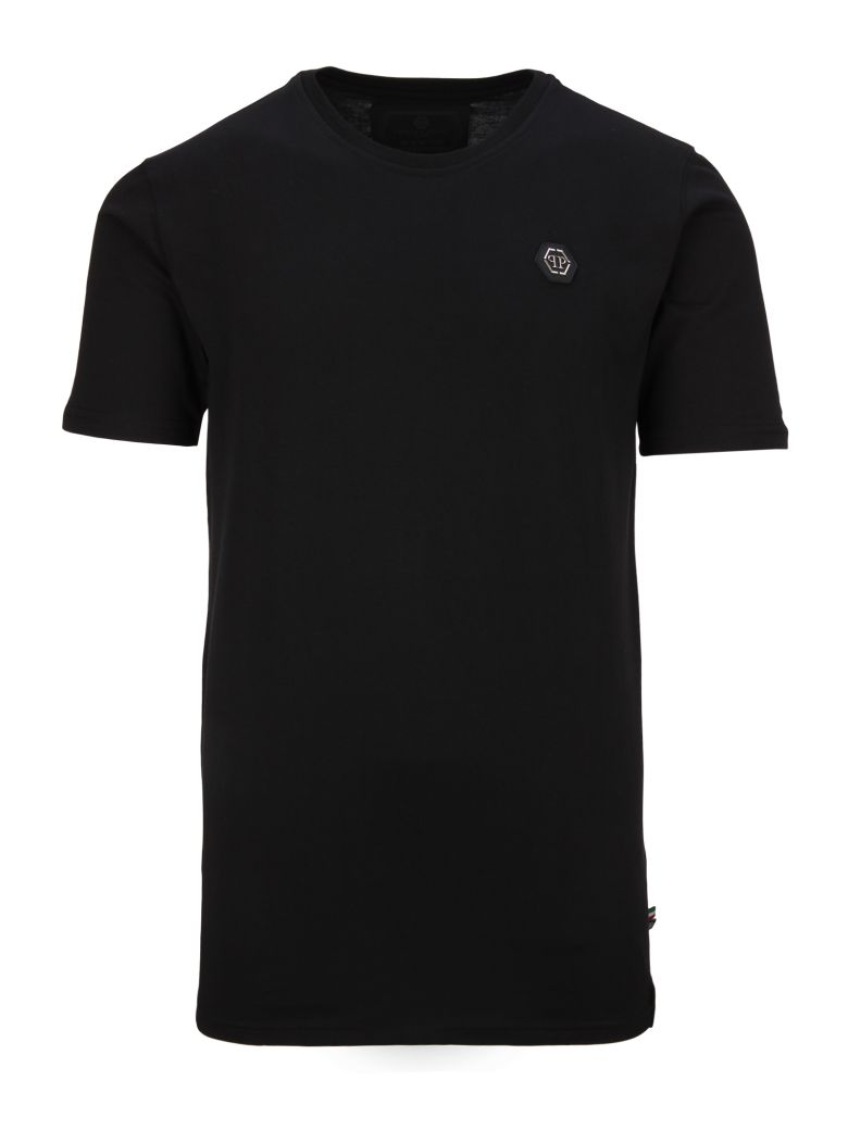 PHILIPP PLEIN Crew Neck T-Shirt, Nero