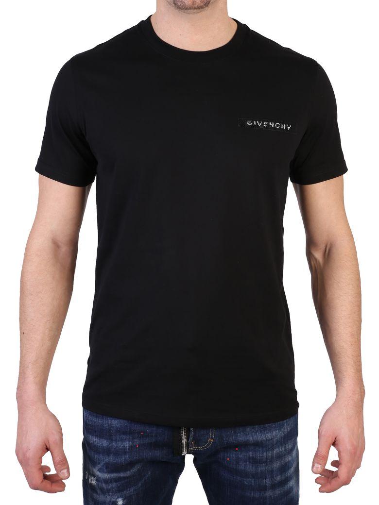 Givenchy Cottons BLACK LOGOT-SHIRT