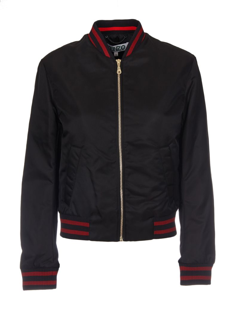 ZIPPED TIGER BOMBER