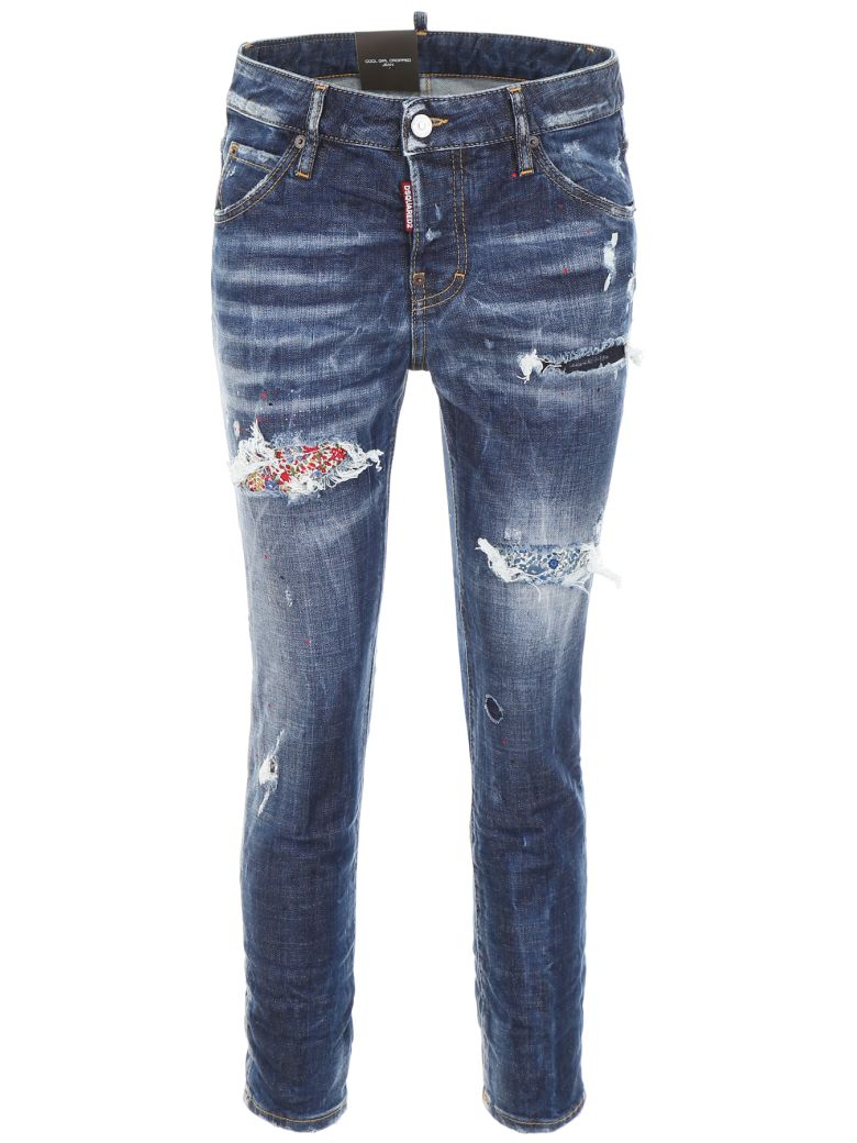 COOL GIRL JEANS WITH LIBERTY PATCH
