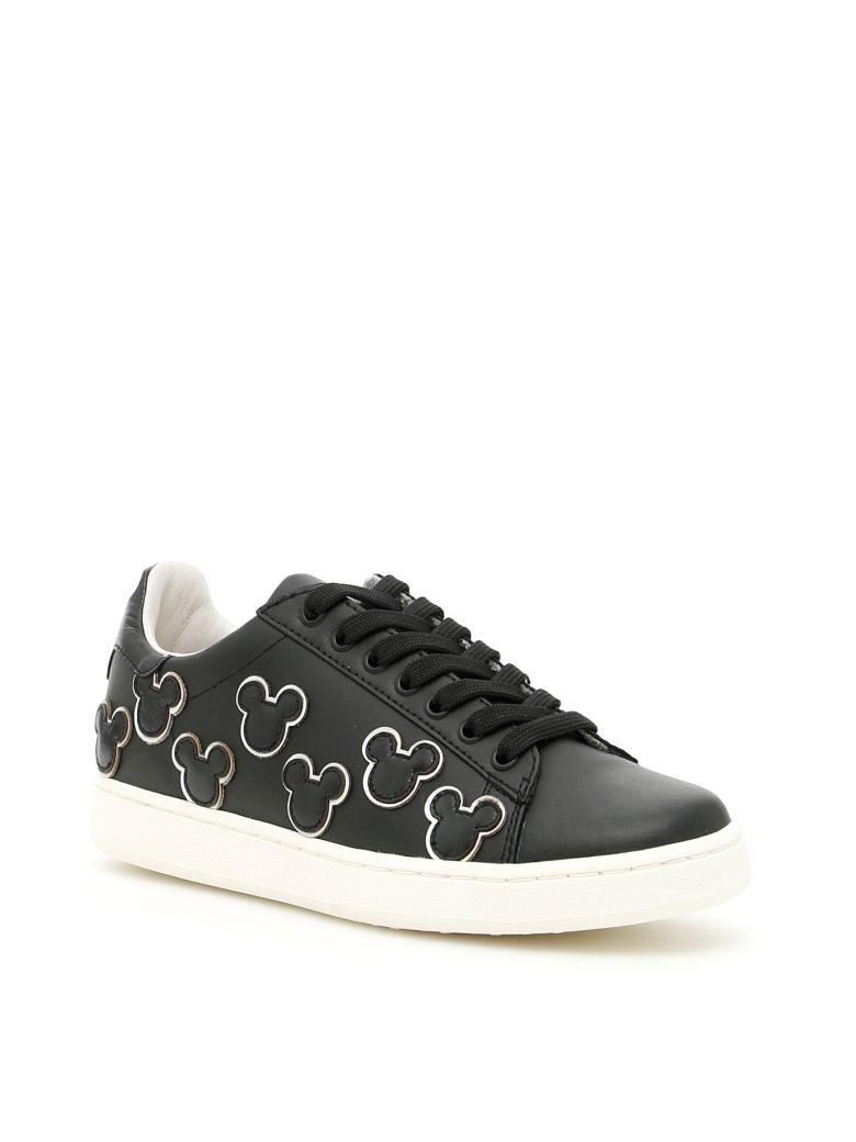 M.O.A. Disney Sneakers in Nero