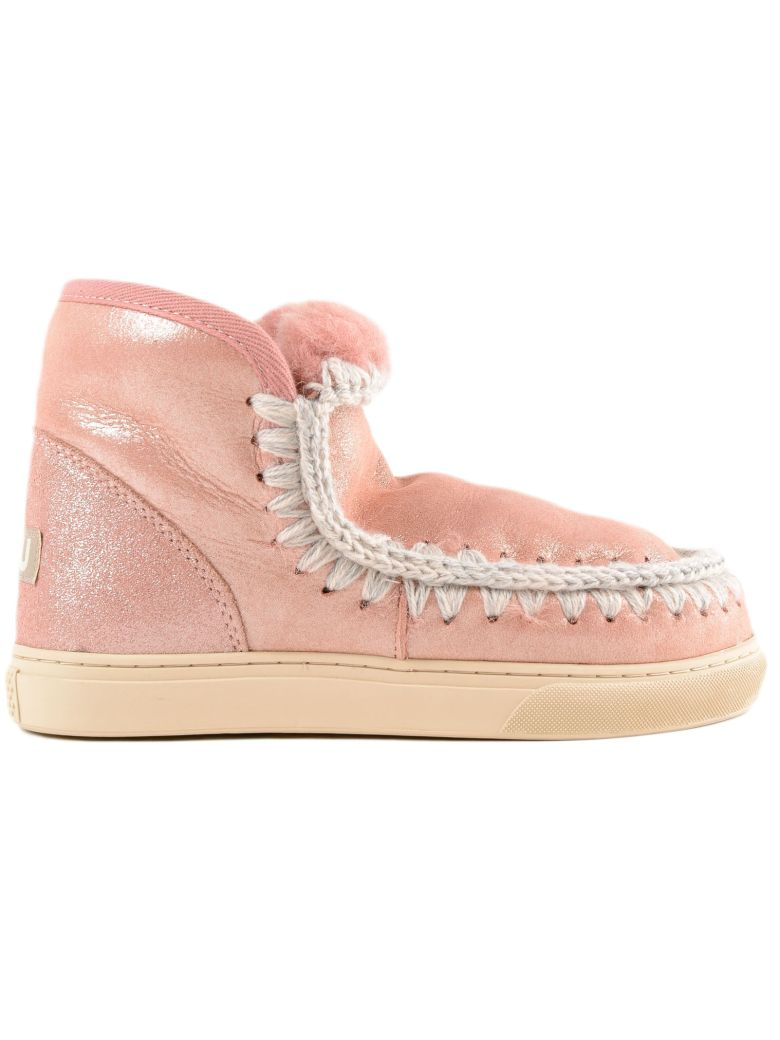 MOU Eskimo Boots in Pink