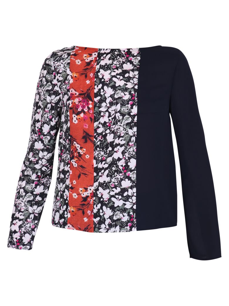 MULTICOLORED PRINTED BLOUSE