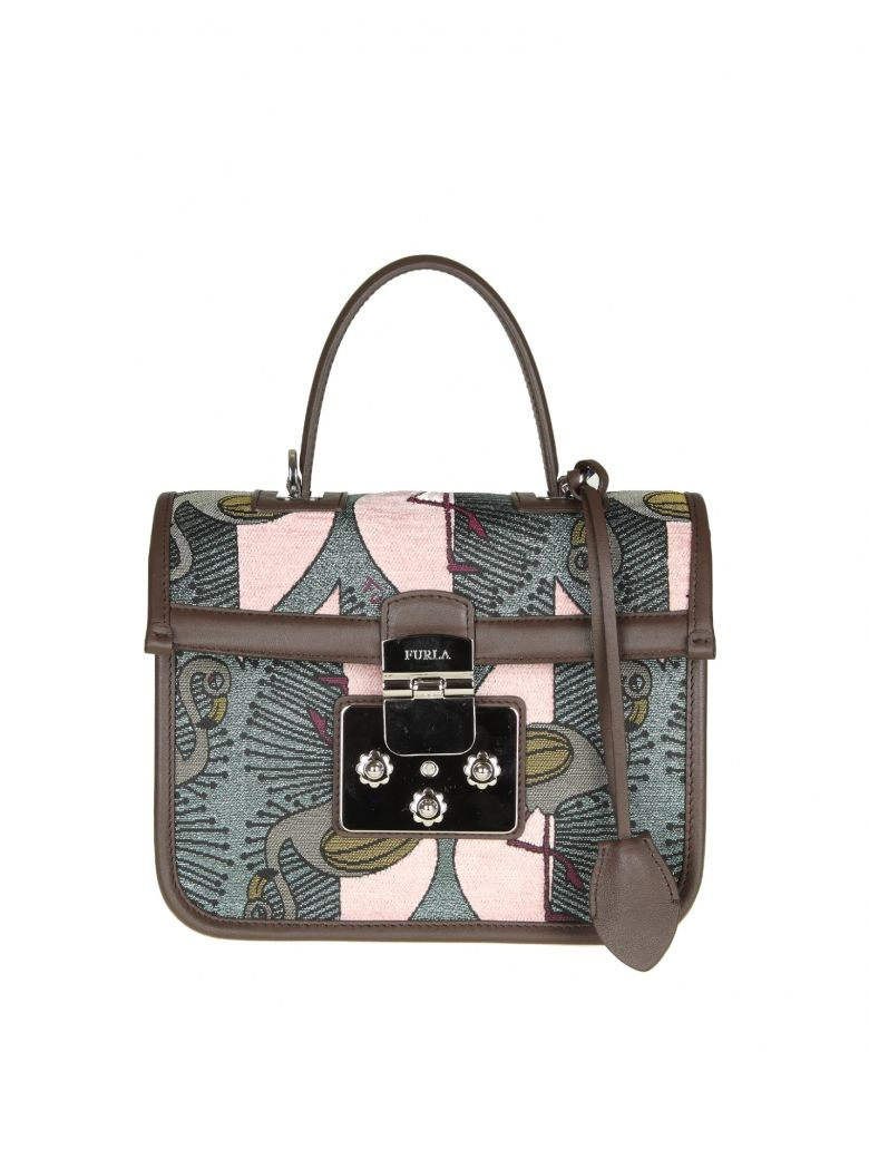 FENICE S HAND BAG IN PRINTED FABRIC