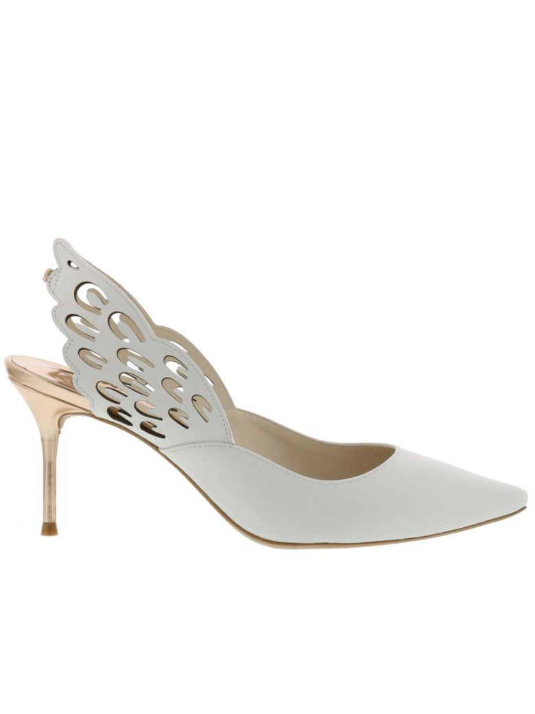 Angelo Mid Pump, White Rose Gold