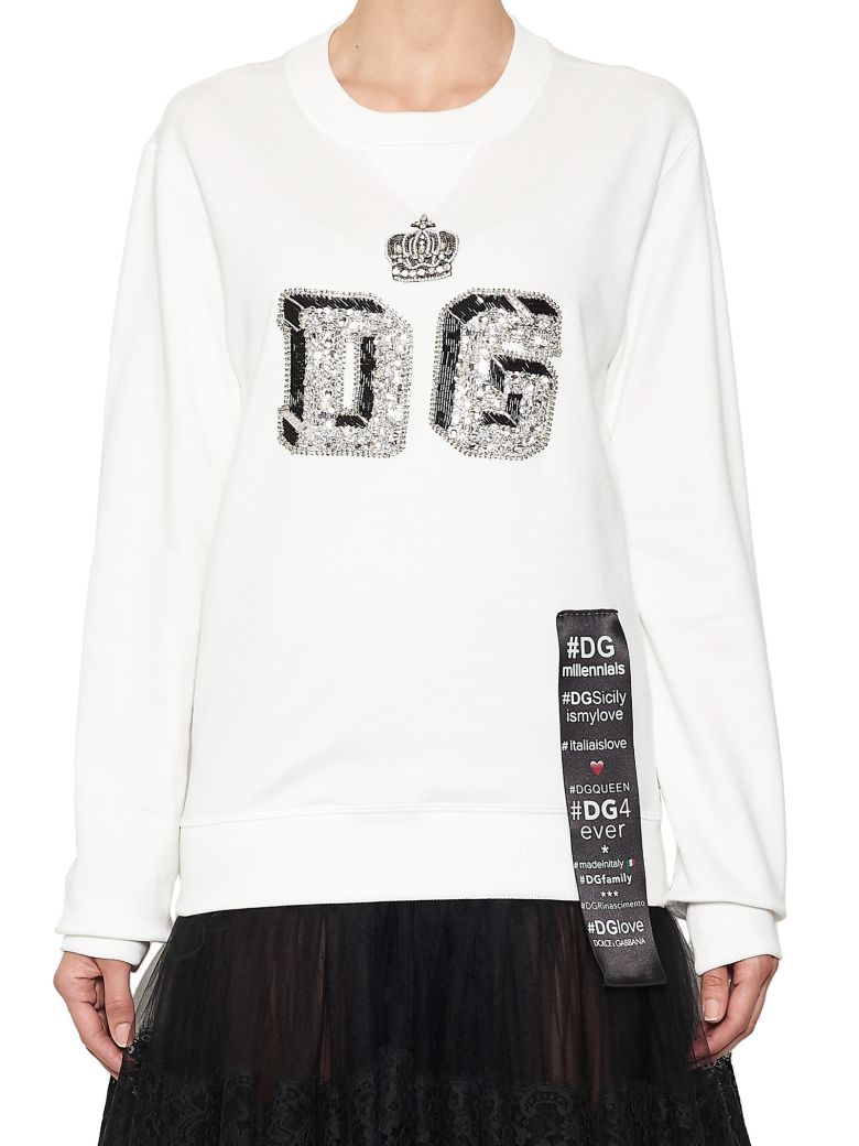 crown logo sweatshirt