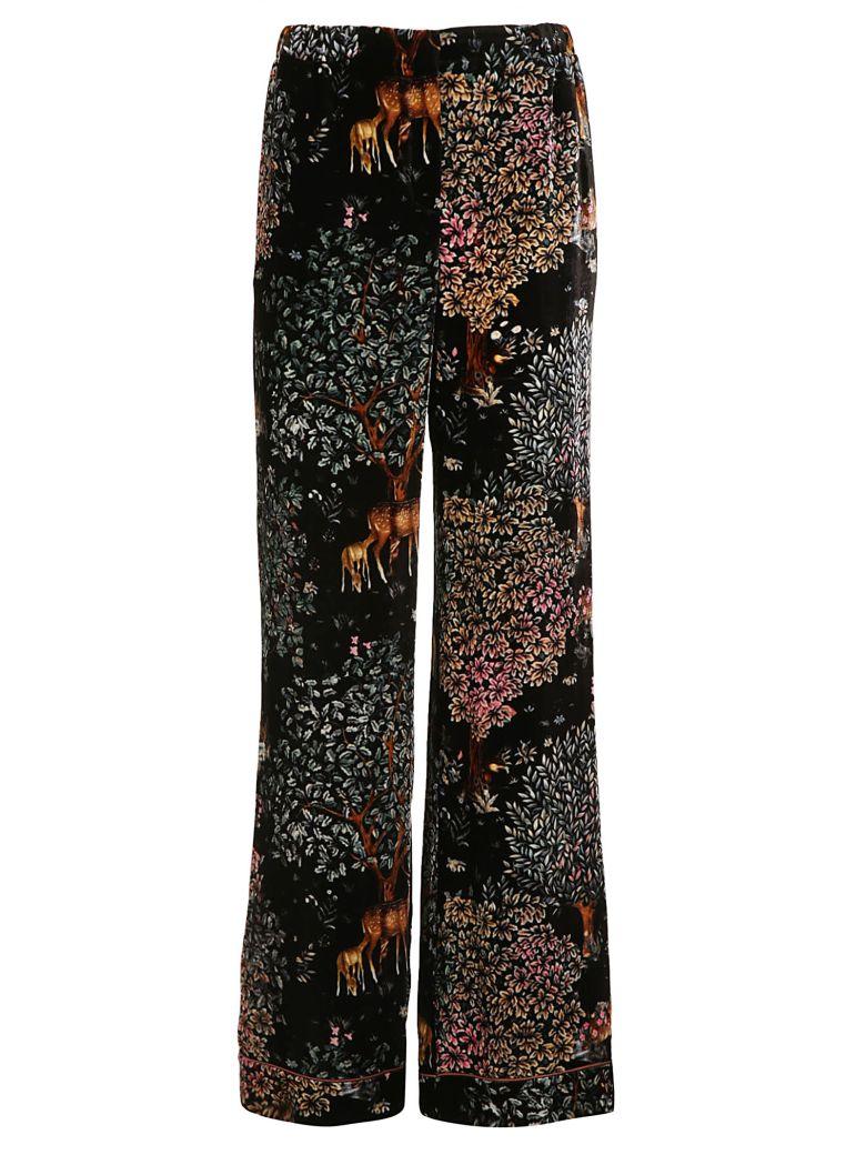 Woodland Velvet Trousers, Black