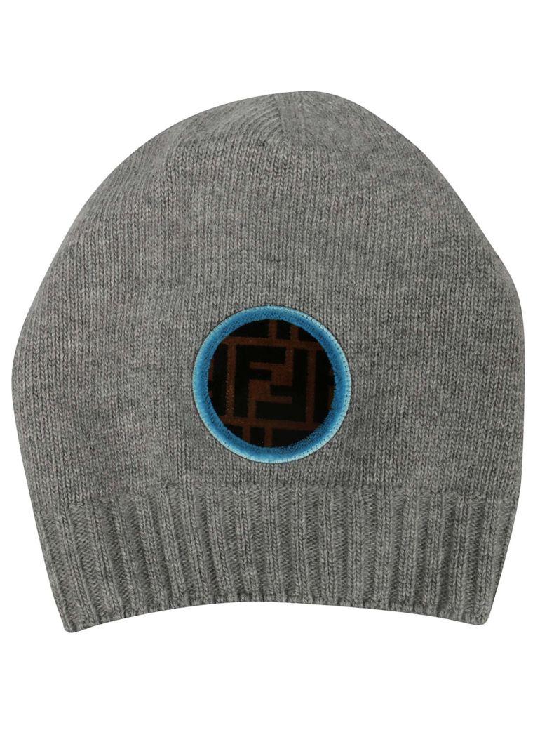 Fendi Ff Logo Beanie  de0188d9be26