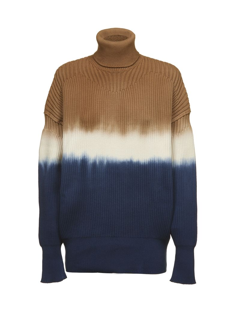 SONIA BY SONIA RYKIEL Sonia By Sonia Rykiel Dip Dyed Sweater in Multicolor