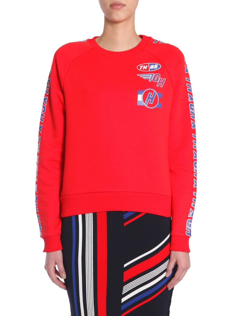 TOMMYXGIGI X Gigi Hadid Team Sweatshirt in Red
