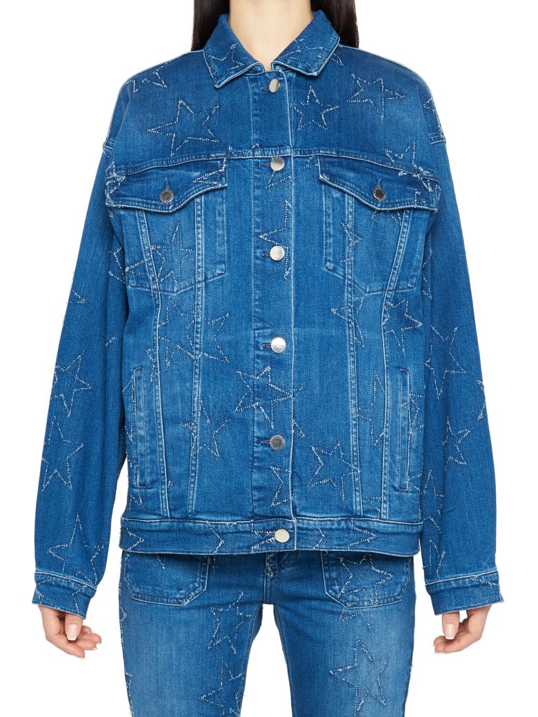 STELLA MCCARTNEY STAR DENIM JACKET