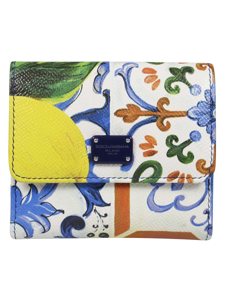 FLORAL FRENCH WALLET