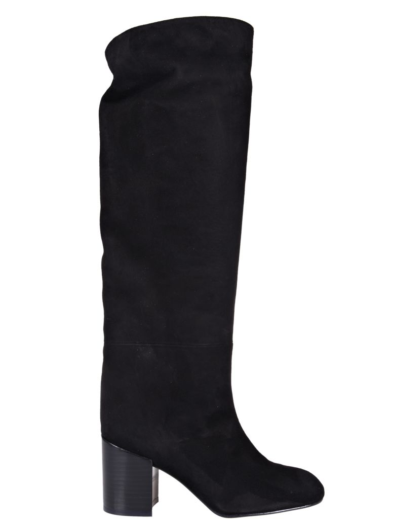 Tubo Over-The-Knee Boots, Black