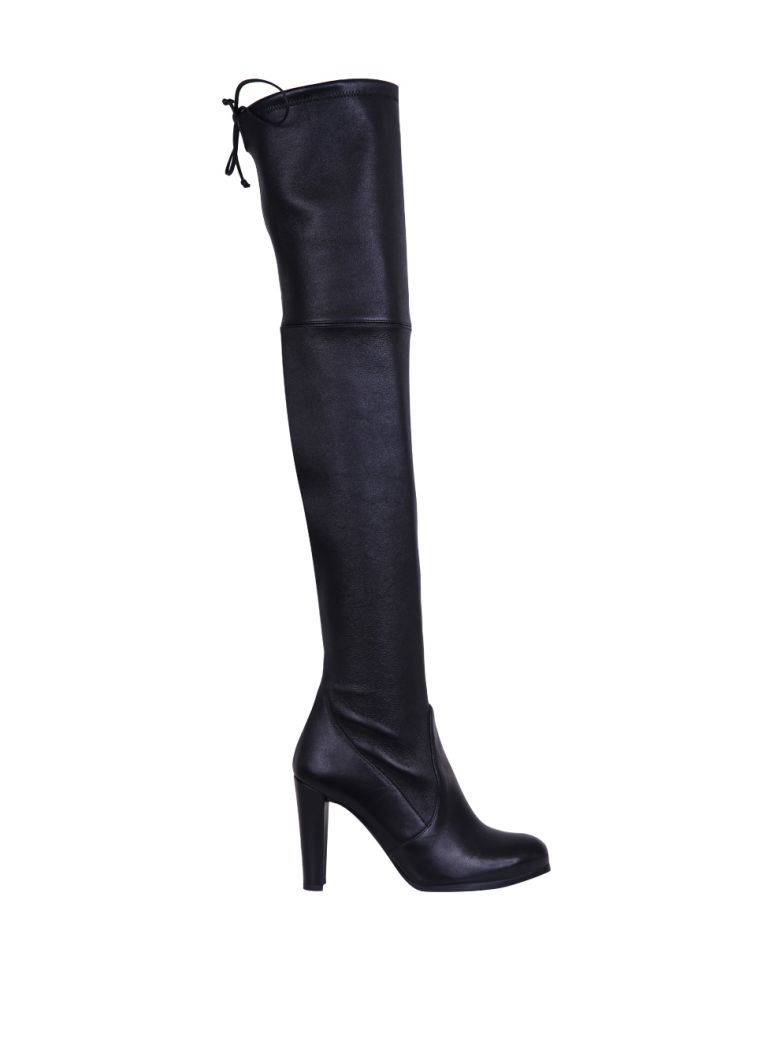HIGHLAND LEATHER STRETCH BOOTS