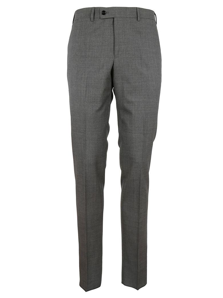 MASSIMO PIOMBO Slim Fit Pants in Light Grey