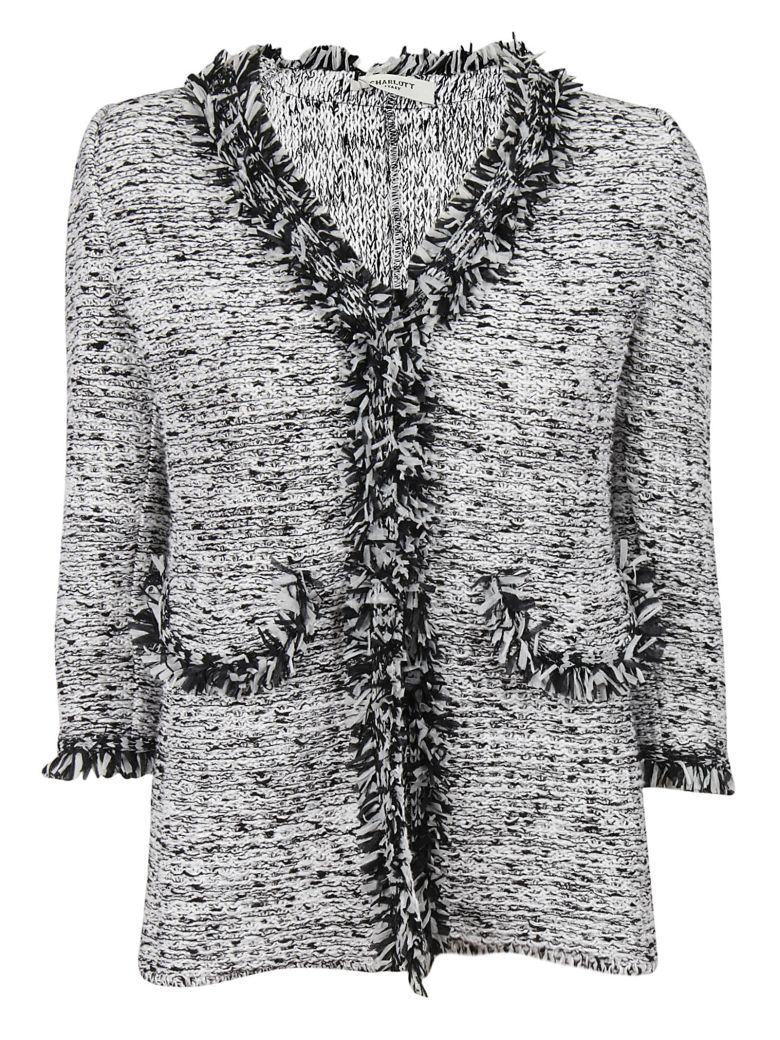 KNITTED FRINGE JACKET