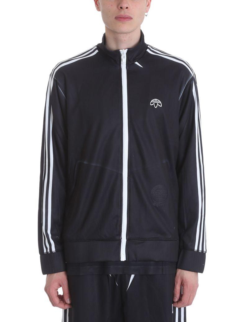 Adidas Originals By Alexander Wang BLACK COTTON SWEATSHIRT