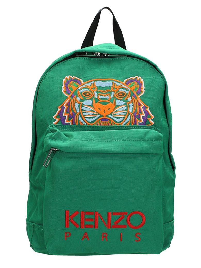 KENZO GREEN COTTON BACKPACK