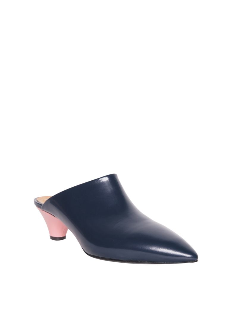 Marni Leather Mules - Midnight Clean And Classic Nicekicks For Sale AGWuYMj