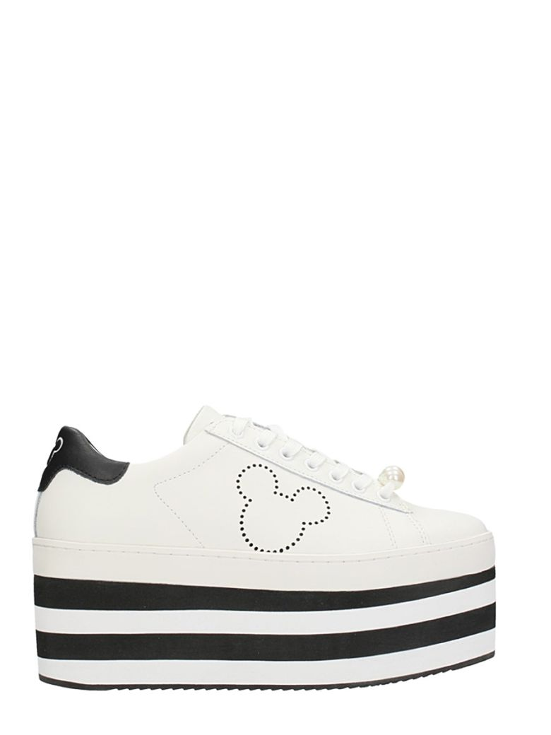 M.o.a. Master Of Arts MICKEY MOUSE PLATFORM SNEAKERS